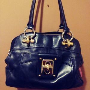 Handbags - $295 Black Leather Purse Bag